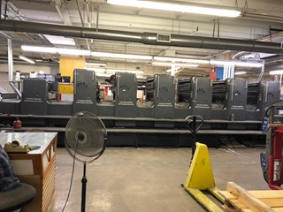 Heidelberg SM102SP+L Sheet Fed