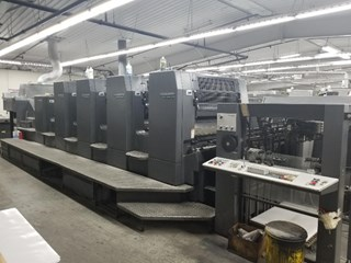 Heidelberg SM102-4P+L Sheet Fed
