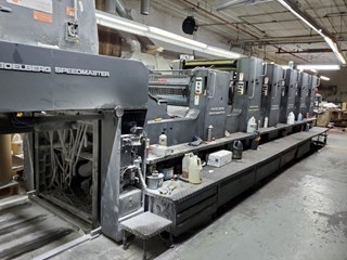 Heidelberg SM102-5P+LX 单张纸胶印机