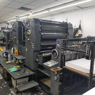Heidelberg SM102-Z Sheet Fed