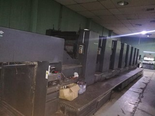 Heidelberg SM102-8P3.5 Sheet Fed