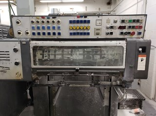 Heidelberg SM 72 -6 (Straight Machine) Offset de pliegos