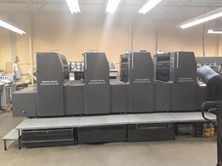 Heidelberg SM 74-4P Sheet Fed