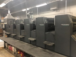 Heidelberg SM74+5P-H+L Sheet Fed