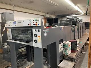 Heidelberg SM74-4+LX Gebrauchte Bogenoffsetmaschinen