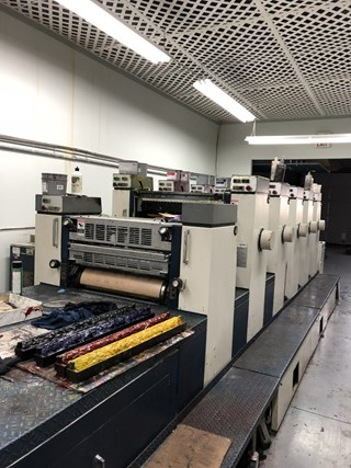 KOMORI L526+LX Sheet Fed
