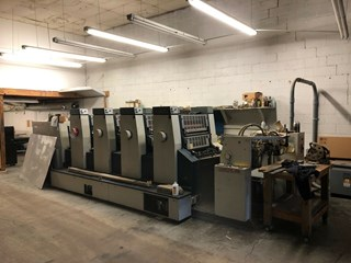 Komori Lithrone L 426 Sheet Fed