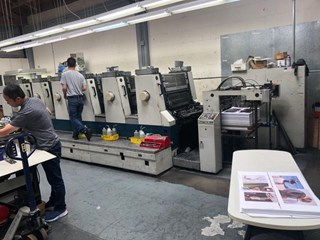 Komori Lithrone L-628 Sheet Fed