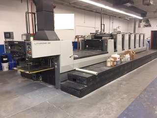 Komori NL628+LX Sheet Fed
