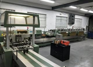 Muller Presto Collator, Stitcher, Trimmer Zusammentragmaschine - Sammel hefter