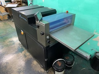 Olec Swift 18 UV Coater Finishing