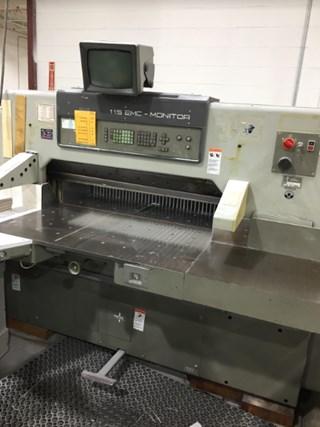 Polar 115 EMC Monitor 切纸机
