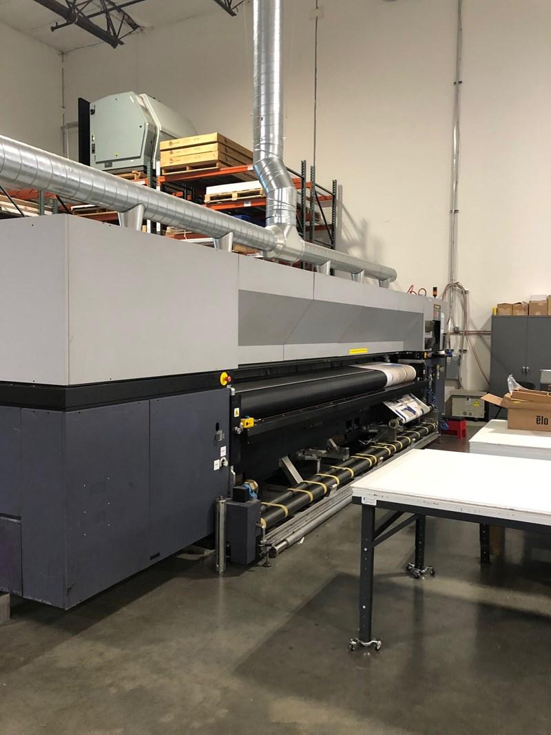 Durst RHO 500R Superwide 5m UV roll-to-roll printer