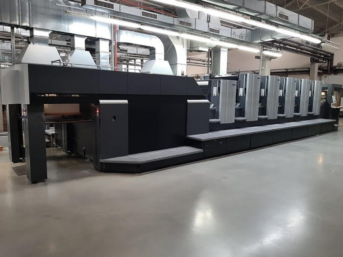 Show details for Heidelberg CX 102-5+LX