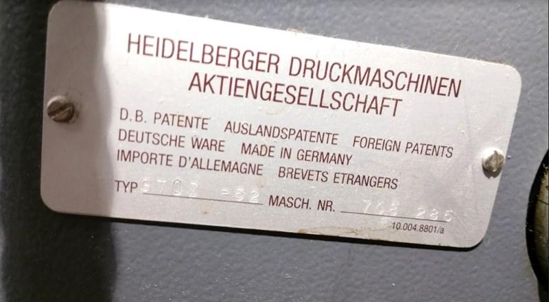 Heidelberg GTO52-2