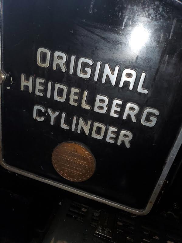 "Heidelberg ""S"" Cylinder"