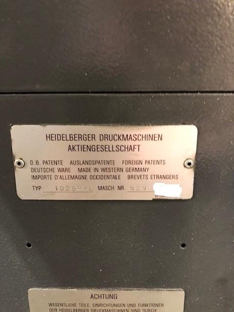 Heidelberg SM102SP+L