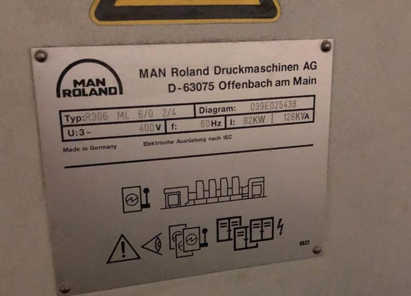 Manroland 306P+L 2/4 6/0