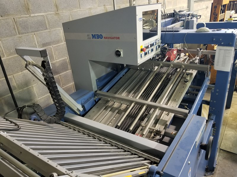 Show details for MBO Navigator Folding Machine T 800.1
