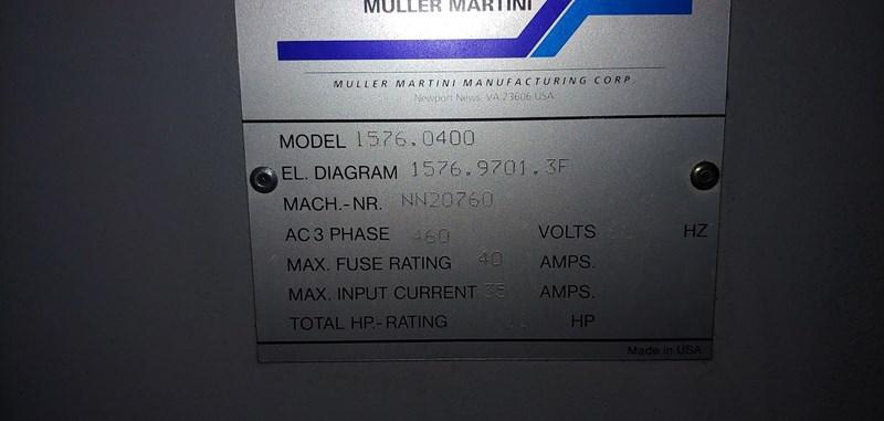 Muller Martini Esprit 3-Knife Trimmer