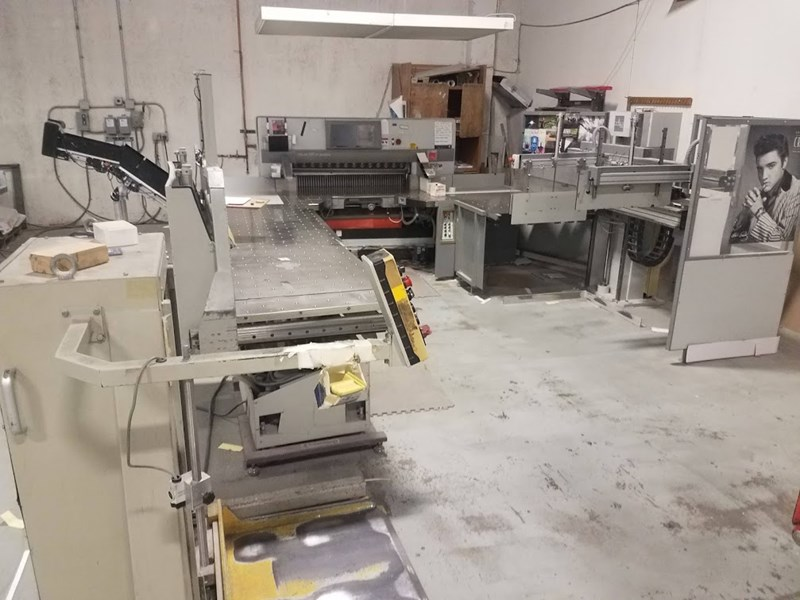 "Polar 137AT-XT 52"" Guillotine Cutter with Auto-Trim"
