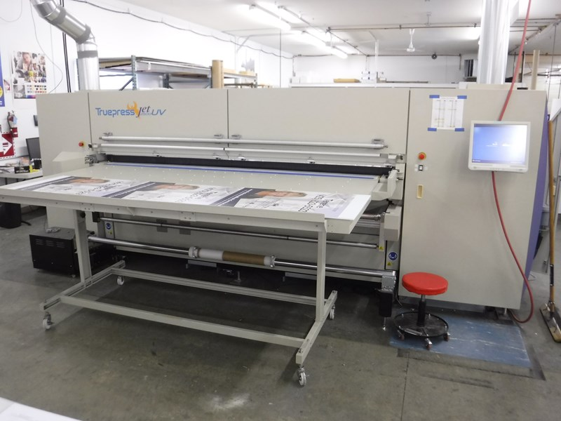 Show details for Screen Truepress 2500 UV