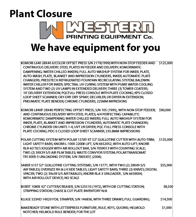Company Closure