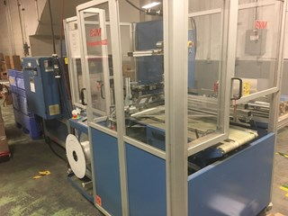 2007 BVM automated shrink wrap and tunnel Packing Machines