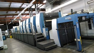 KBA Rapida 162A-5+LFAPC ALV3 Sheet Fed