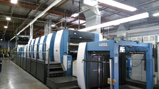 RA 162A-6+LFAPC ALV3 单张纸胶印机