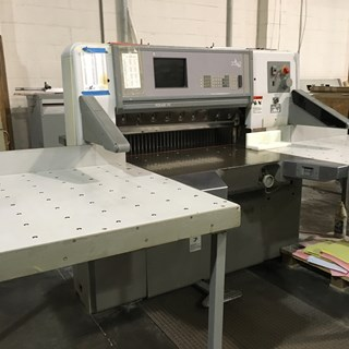 1998 Polar cutter model 92 E Guillotines/Cutters
