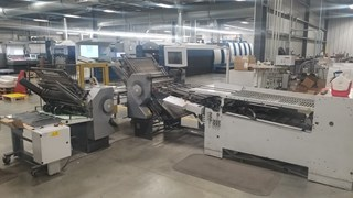 Stahl folder TH 82 6-6-4  Folding machines