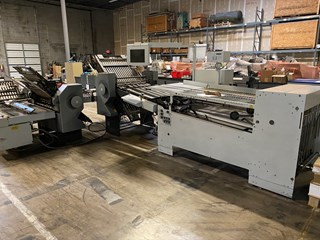 Stahl folder TH 82 6-6-4 (Level 3 Automation) Folding Machines