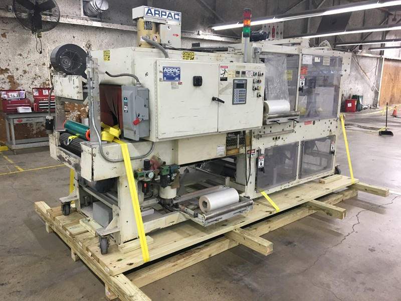 Show details for Arpac automated shrink wrap