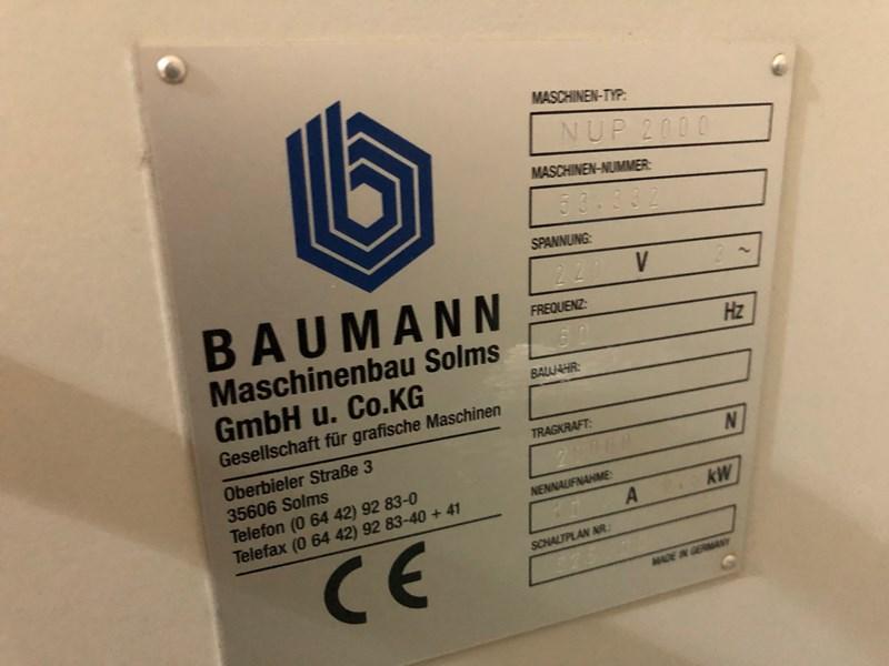 Baumann NUP 2000 Pile Lift