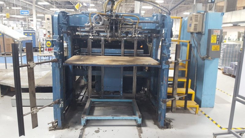 Two Bobst Diecutters, Houston, TX