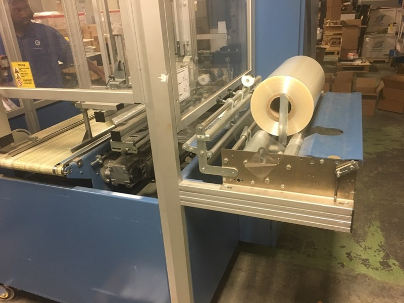 2007 BVM automated shrink wrap and tunnel