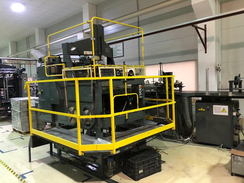 Show details for 2000 EMMECI MC2 Rigid Box Machine