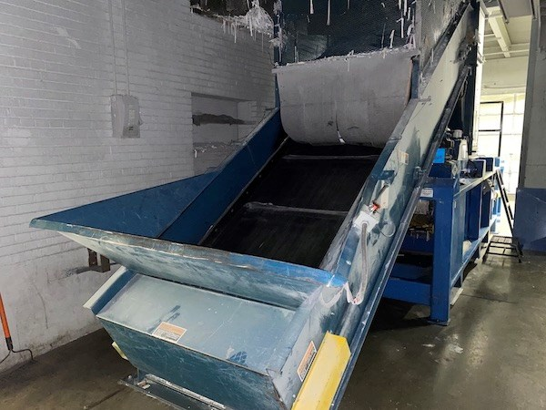 Excel Manual Tie Baler with cart Tipper