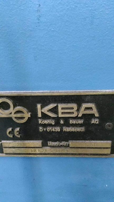 KBA Rapida 162A-5+LFAPC ALV3