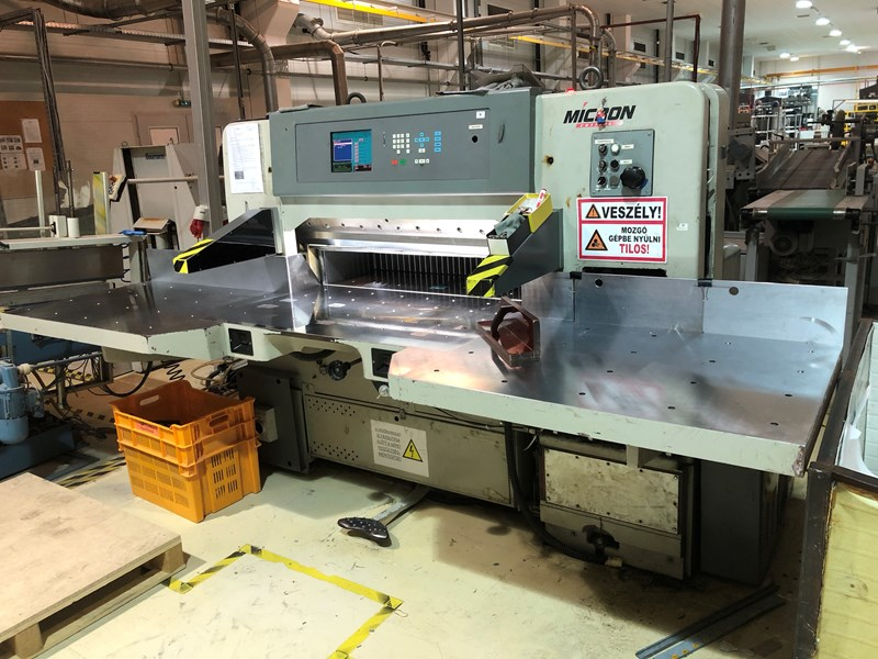 "Show details for Micron MC 45-S 45"" Programmable Cutter"