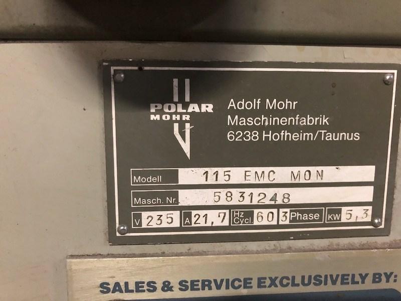 1988 Polar 115 EMC Mon