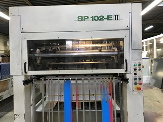 BOBST SP 102 E II Die Cutting