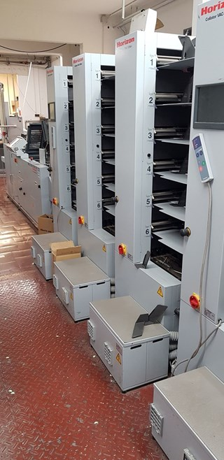 Horizon SPF-200A HP-200A FC-200A Booklet Production