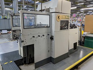 Kama KAMA TS 74-s with hot foil HFS Die Cutting