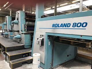 Manroland 804-7B Sheet Fed