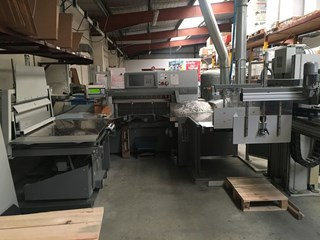 POLAR 115 XT COMPLETE LINE  Guillotines/Cutters