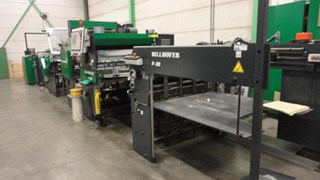 Billhöfer KC 104 laminator  Finishing