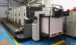 Komori Lithrone L 540 II + LX Sheet Fed