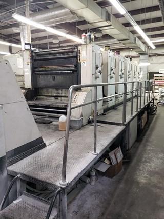 Akiyama Bestech 640 Gebrauchte Bogenoffsetmaschinen